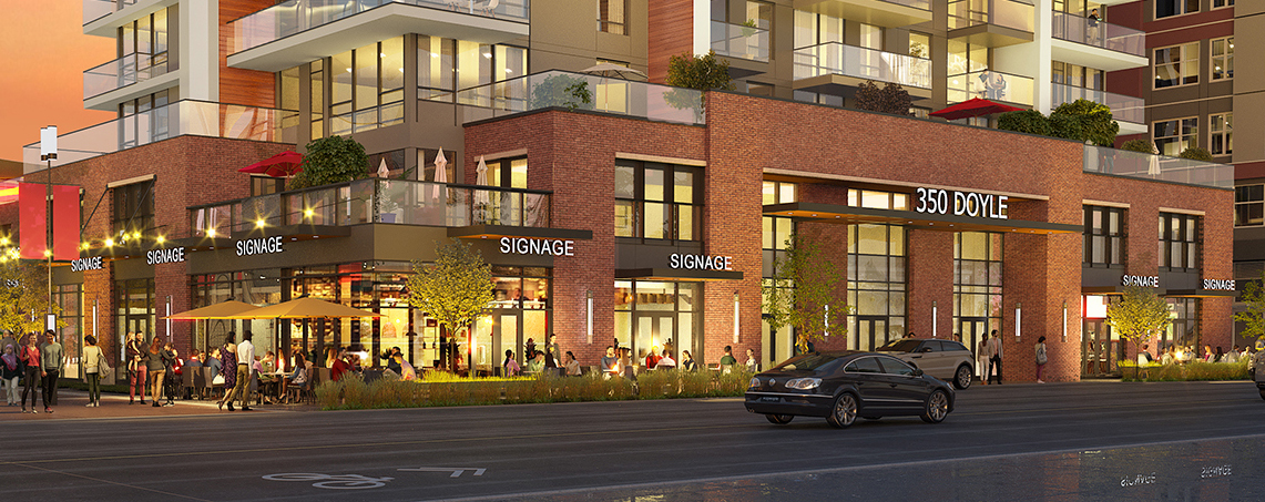 350 Doyle Mixed-Use Office & Residential Building for Lease